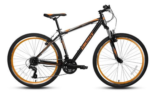 bicicleta best de hombre pireo aro 26 negro/naranja