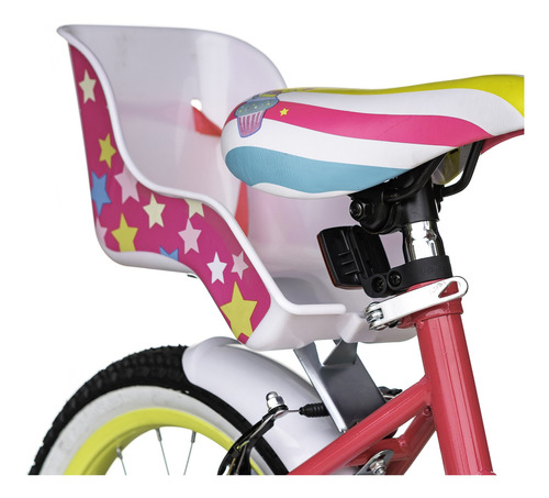 bicicleta best de niña dolce 16 + casco de regalo