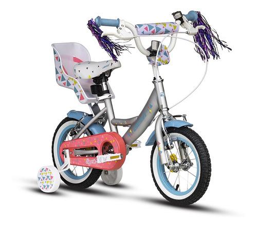 bicicleta best de niña spark 12 + casco de regalo