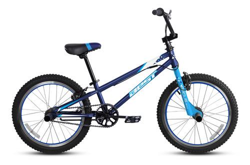 bicicleta best de niño argus aro 20 azul/blanco
