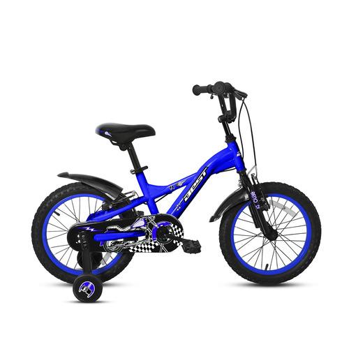bicicleta best de niño beno aro 12 azul/negro