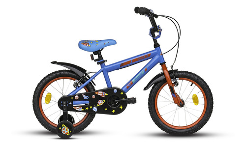 bicicleta best de niño galax 16 + casco de regalo