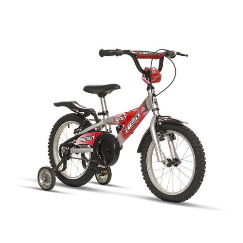 bicicleta best de niño scout alloy aro 16 rojo