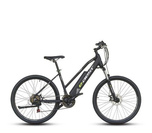 bicicleta best electrica asistida e-best mujer aro 26 negro