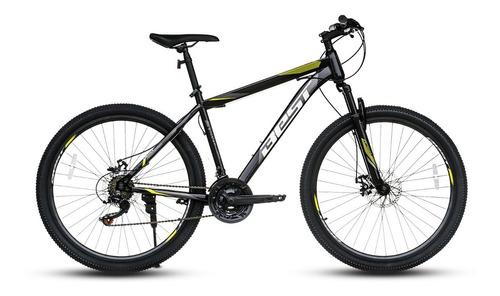 bicicleta best mtb trivor 27.5  21v negro