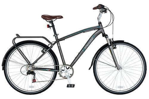 bicicleta bianchi city aro 26 hombre alloy grafito