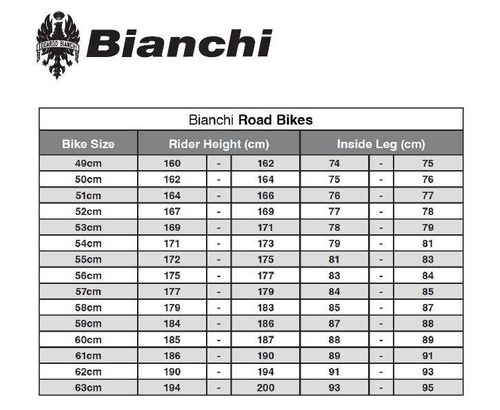 bicicleta bianchi intrepida 105 11sp