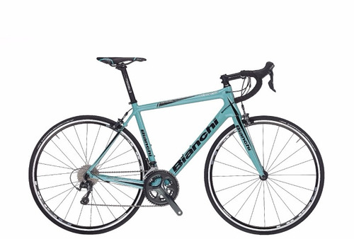 bicicleta bianchi intrepida tiagra celeste talla 48