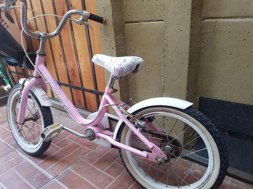 bicicleta bianchi niña aro 16