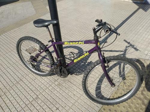 bicicleta bianchi rodado 26 impecable