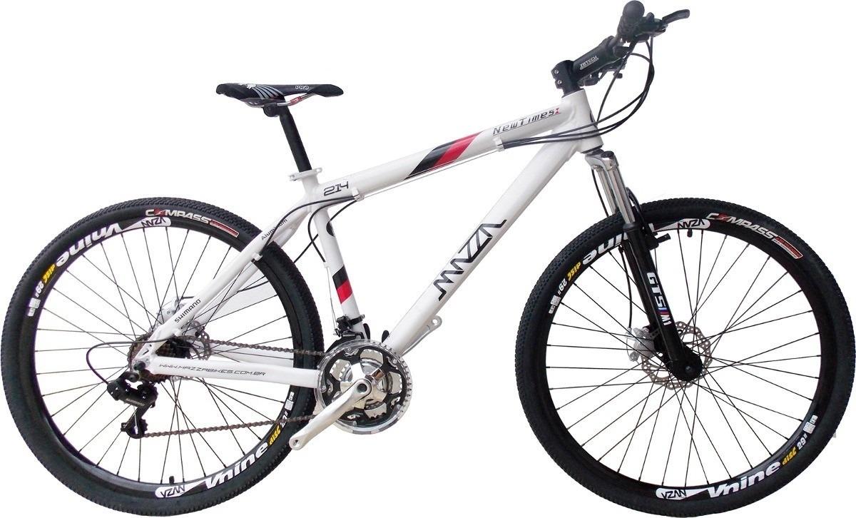 bicicleta bike mazza new times 29 disco hidráulico 24v. Carregando zoom. 6eb6c701eda8c
