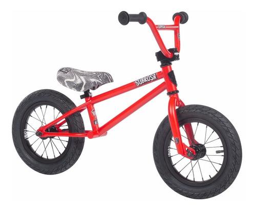 bicicleta bmx 12 altus balance roja 2018