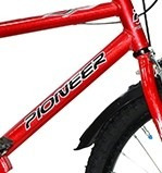 bicicleta bmx cross rodado 20 varon - pioneer-  ind. arg.