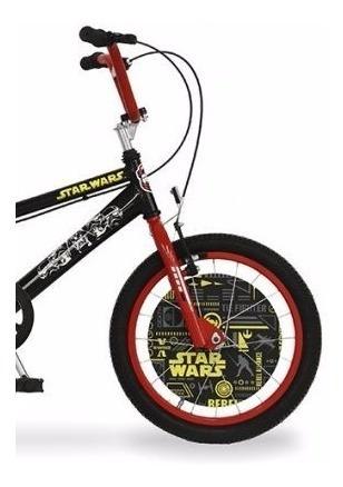bicicleta bmx disney star wars r16 envío gratis
