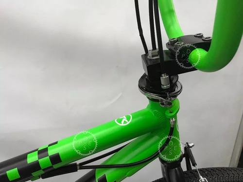 bicicleta bmx freestyle r20 teknial pixel tamburrino motos