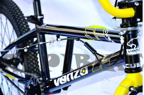 bicicleta bmx freestyle venzo cube rodado 20
