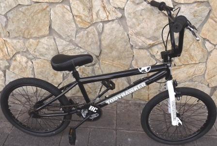 bicicleta bmx hawker tommy rotor black aro 20 2019