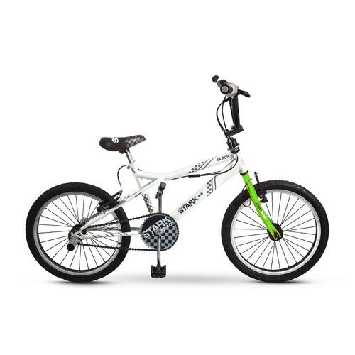 bicicleta bmx stark black 6078 rodado 20 rotor 360 colores