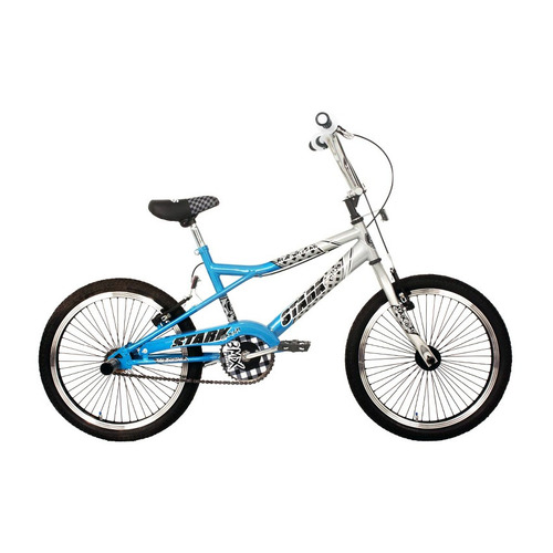 bicicleta bmx stark freestyle 6069 rodado 20 v-brake colores