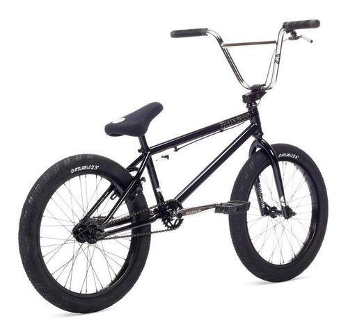 bicicleta bmx stolen heist 2019 negra ¡cubiertas anchas!