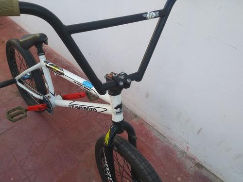bicicleta bmx venzo lighting