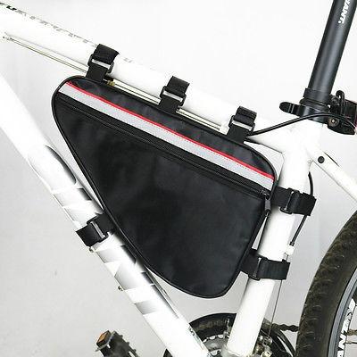 bicicleta bolsa de marco triángulo, medio
