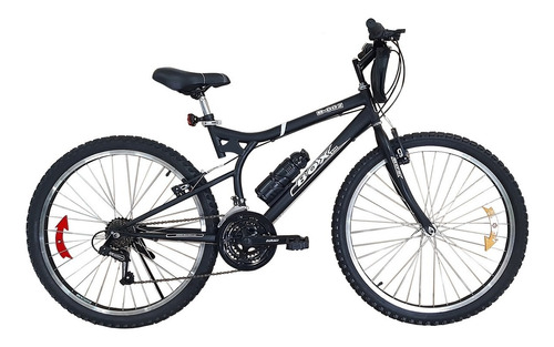 bicicleta box bike con cambios shimano aro 26 - negro