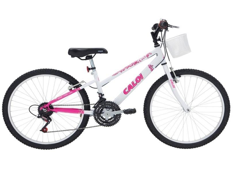 bicicleta caloi 21 marchas aro 24 freio v-brake ceci. Carregando zoom. 89dc26c0f0522