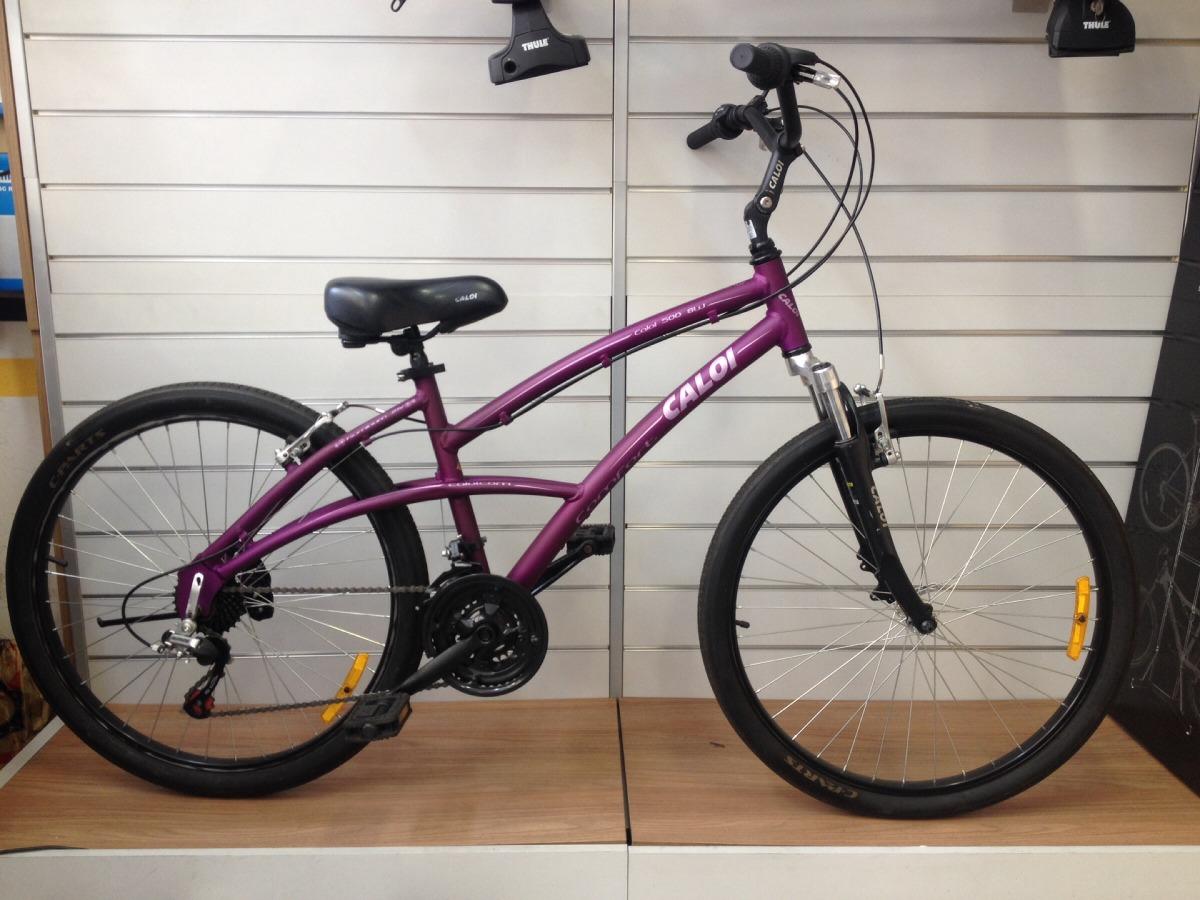 5a9c15c66 bicicleta caloi 500 roxa feminina 21v shimano. Carregando zoom.