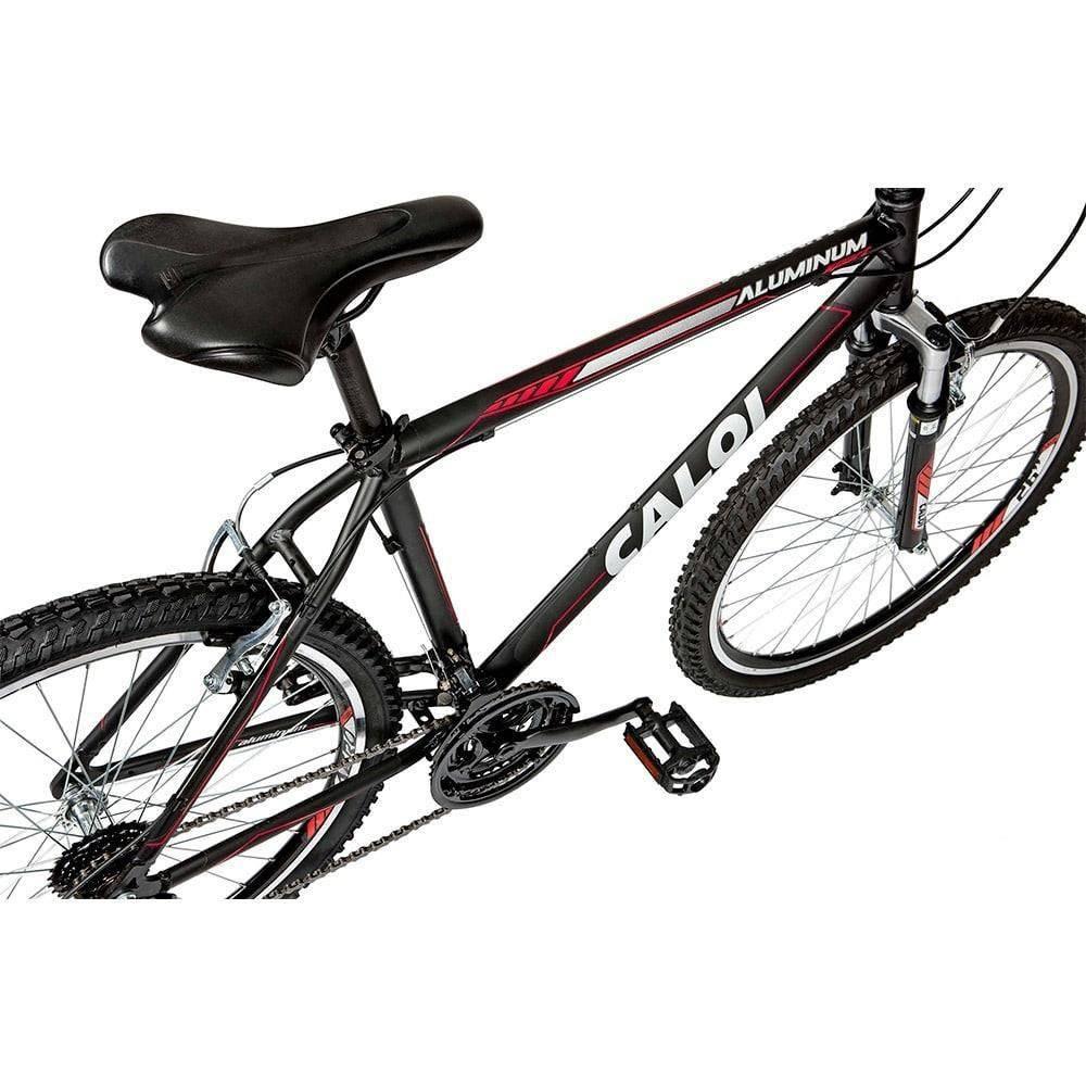 bicicleta caloi aluminum sport aro 26 preto 21v. Carregando zoom. 3e2a5f68764bf