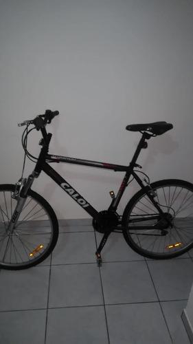 bicicleta caloi aro 26 aluminum 21 marchas passeio - usado