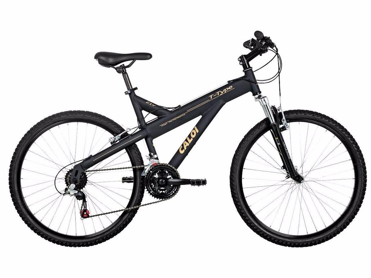 ffebbaee5 Características. Marca Caloi  Modelo T-Type  Aro 26  Idade Adultos  Tipo de bicicleta  Mountain bike ...