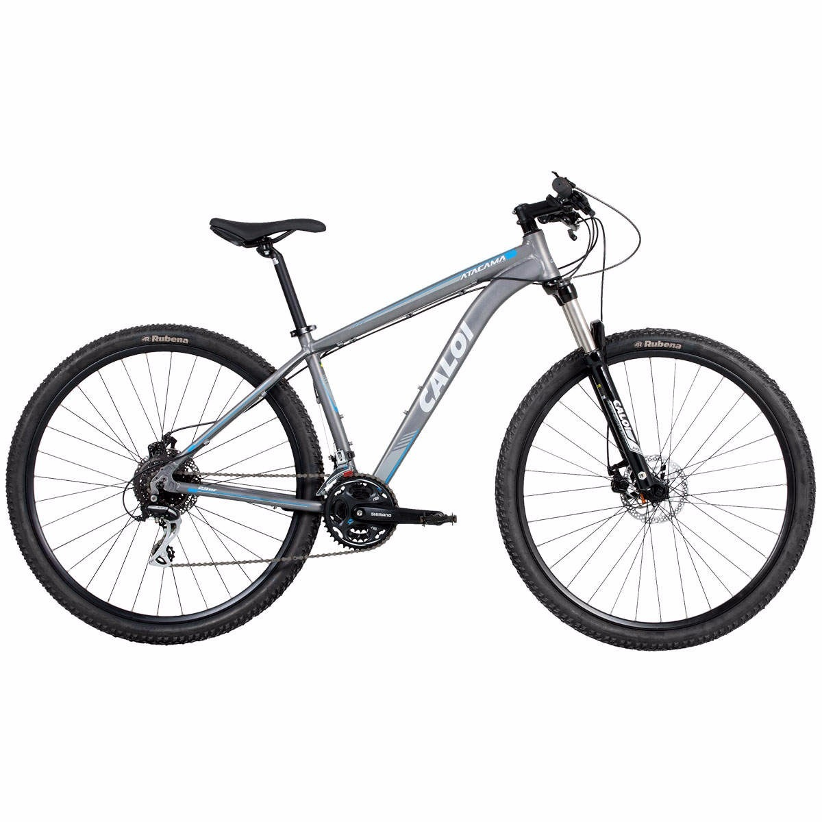 f0173c6d1 Bicicleta Caloi Atacama Aro 29 - Freio A Disco - Kit Shimano - R ...