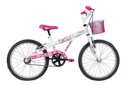 bicicleta caloi ceci 20 - 2017, aro 20, cestinha
