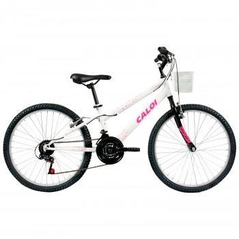 Bicicleta Caloi Ceci - Aro 24 - Freio V-brake - 21 Marchas - R  549 ... ae27bef12f4b0