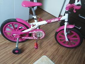 5c5e1db31 Bicicleta Infantil Feminina Caloi Luli Aro 16 - Ciclismo no Mercado Livre  Brasil