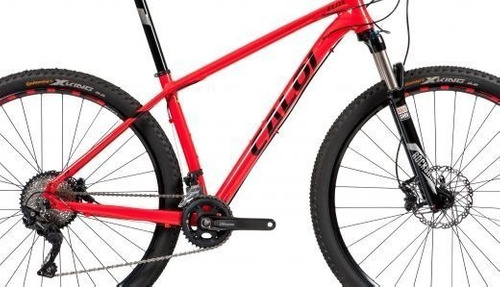 bicicleta caloi elite 2018 deore20v à vista 4200 t15 17 19