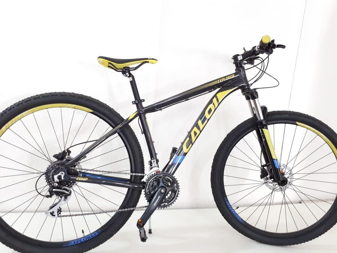 52a07fd59 bicicleta caloi explorer comp aro 29. Carregando zoom.