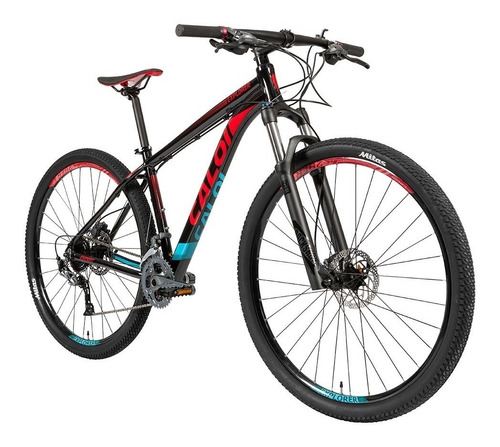 bicicleta caloi explorer expert 27v alivio + rock shox