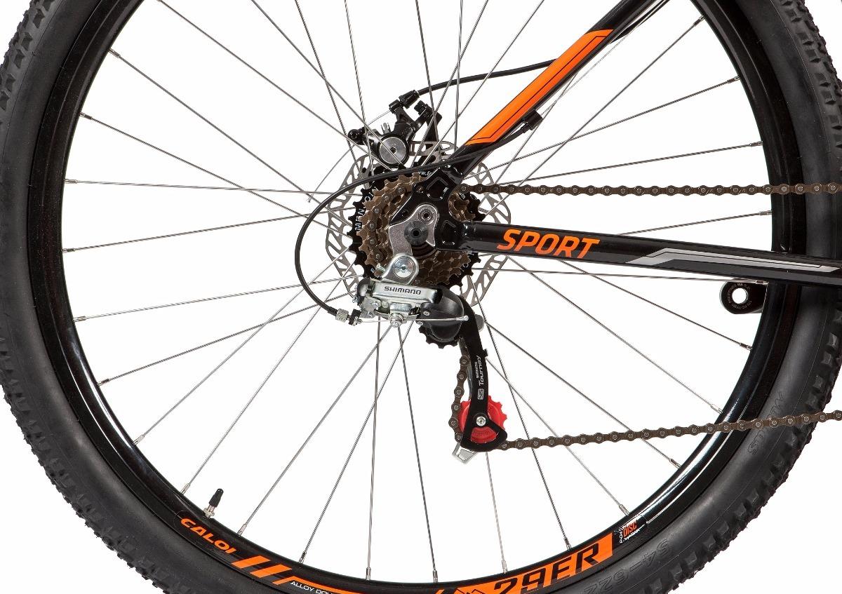85a6d8984 bicicleta caloi explorer sport 2018 - aro 29 - 21v - mtb. Carregando zoom.