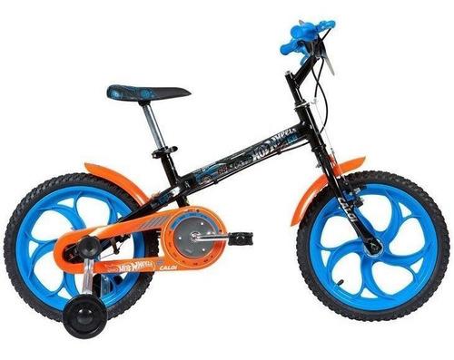 bicicleta caloi hot wheels 16 - 2017, aro 16