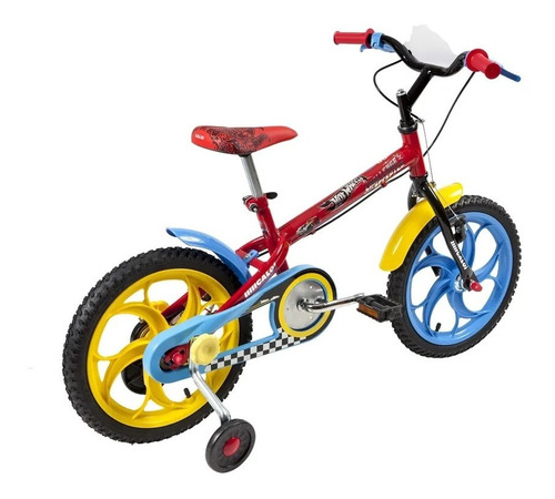bicicleta caloi hot wheels 16