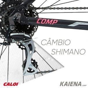 83febe93c Bicicleta Caloi Kaiena Comp 24v. 2018 Aro 29 - R  2.380