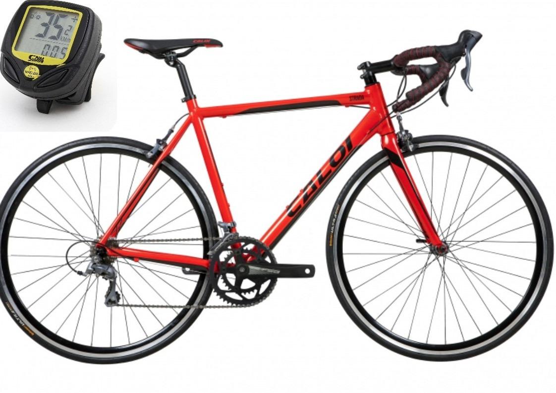 e0e12357e bicicleta caloi strada tam g 56 2019 vermelho pronta entrega. Carregando  zoom.