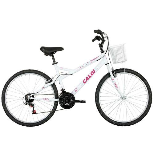 bicicleta caloi ventura, aro 26, 21 marchas - caloi