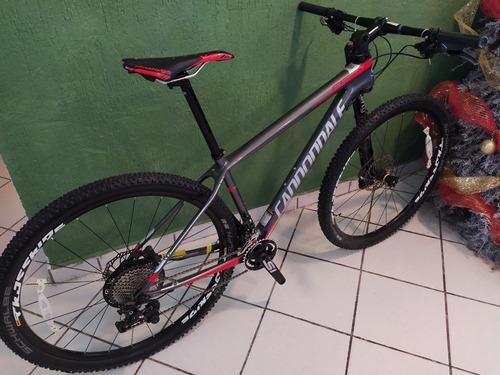 bicicleta cannondale nueva, fibra de carbono, talla m.