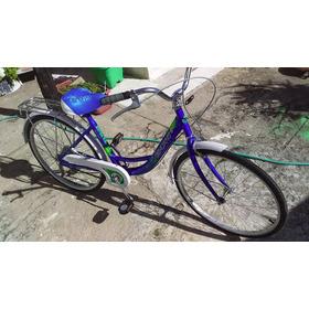 Bicicleta Casi Nueva 4 Usos, Rodado 24 Estilo Vintage