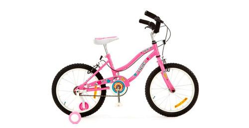 bicicleta chloe (stark) rod 16. color rosa