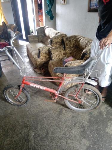 bicicleta chopper antigua para restaurar