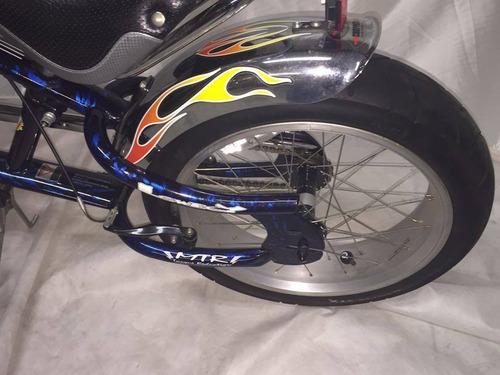 bicicleta chopper l.a cycles bigmo importada